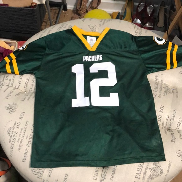 NFL Green Bay Packers Youth Aaron Rodgers Jersey